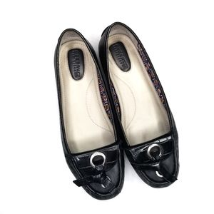 Sperry leather driving moccasins black 7